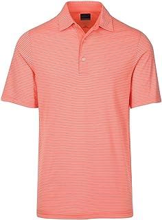 GREG NORMAN Men's Foreword Series Stripe Polo Golf Shirt
