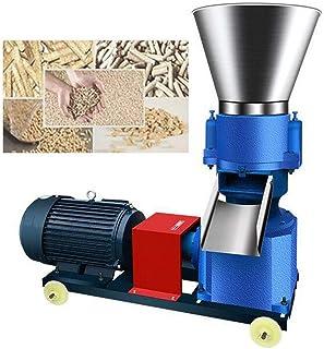 MEICHEN 125 4KW Prensa peletizadora de Alimentación Animal de la máquina de pellets de Madera Molino de pellets de biomasa