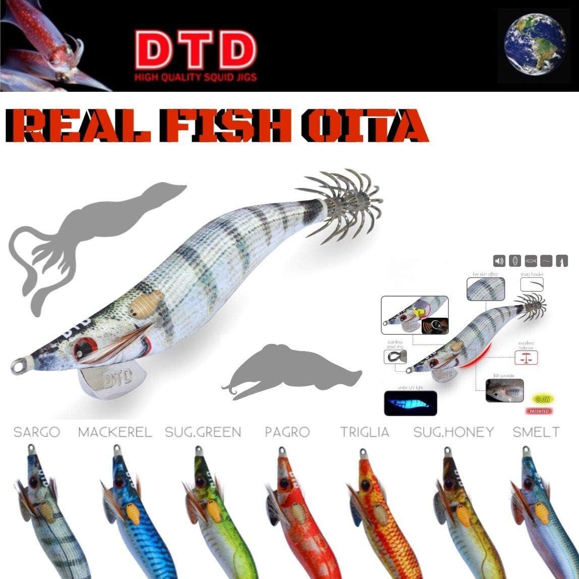 DTD JIBIONERA Real Fish Oita - 7.5CM - Smelt, 05, 7.5, 2.5, 6.5