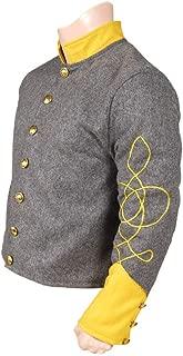 10Code US Civil War Confederate Cavalry 1st Lieutenant Shell Jacket