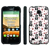 Snub Dog Paw Print - Mobiflare Huawei Union Y538 Slim Guard Armor Phone Case