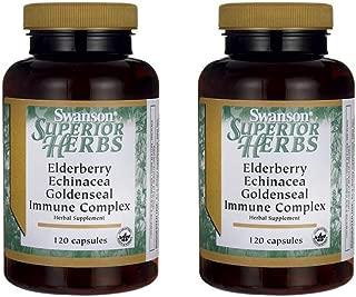 Best swanson superior herbs elderberry echinacea goldenseal immune complex Reviews
