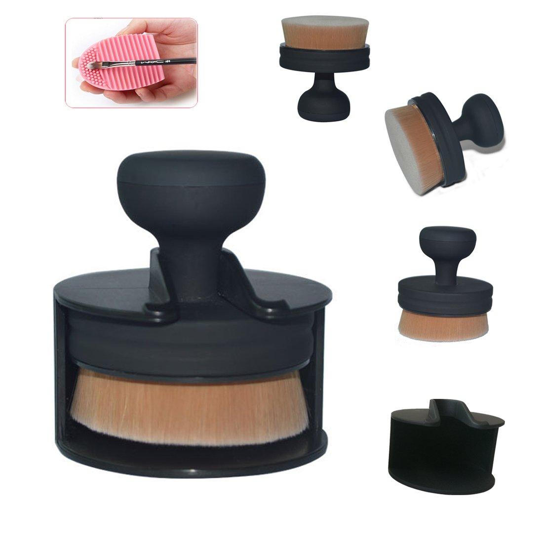 Lookathot Circle Flat Foundation Cheap bargain Makeup New Shipping Free Shipping Brush- Liquid Founda for