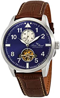 Lucien Piccard Lodestar Auto GMT Automatic Blue Dial Men's Watch LP-28008A-03-BRW