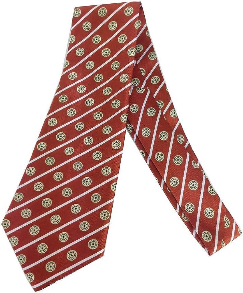 Spot Vintage Tie - Jacquard Weave Wide Kipper Necktie