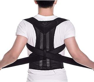 Back Brace Posture Corrector - Back Support Belt with Fully Adjustable Straps Relief Lower & Upper Back Pain, Improve Post...