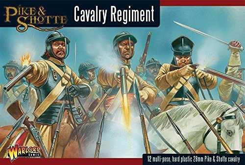 Pike & Shotte Cavalry Boxed Set - Warlord Games - 12 Hard Plastic Models by Warlord Games