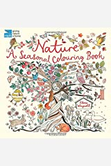 RSPB Nature: A Seasonal Colouring Book Paperback