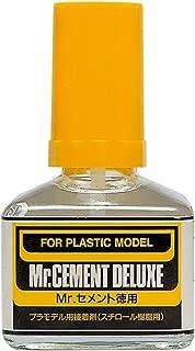 Mr. Cement Deluxe Economy Bottle NET.40ml Gundam Hobby (Brush Type)