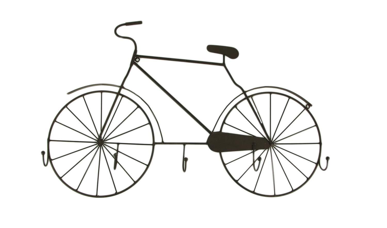 Things2Die4 - Gancho de pared para escultura de bicicleta, color marrón: Amazon.es: Hogar