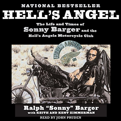 Hell's Angel audiobook cover art