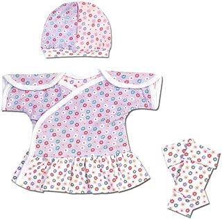 Perfectly Preemie Reversible IV-Dress - NICU-Friendly Preemie Clothes