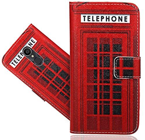FoneExpert® Alcatel 3C Handy Tasche, Wallet Hülle Flip Cover Hüllen Etui Hülle Ledertasche Lederhülle Schutzhülle Für Alcatel 3C