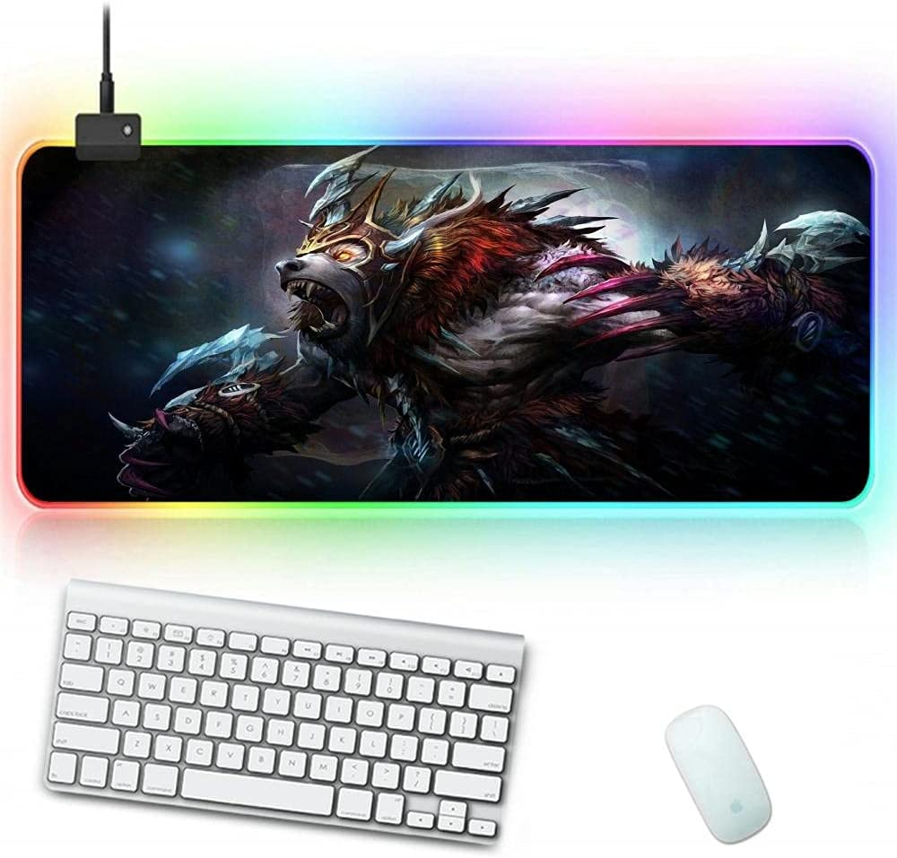 Gaming NEW Mouse Pad RGB Glowing Dota Branded goods Durable Pads Desk 2