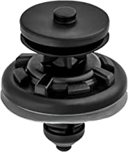 Clipsandfasteners Inc 15 Trim Panel Push-Type Clips W/Sealer Compatible With Volkswagen 6Q0-868-243