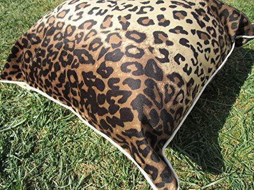 PAGO POCO Bezug oder Kissen für Möbel, gemustert, 50 x 50 cm, aus Samt, 100% Made in Italy