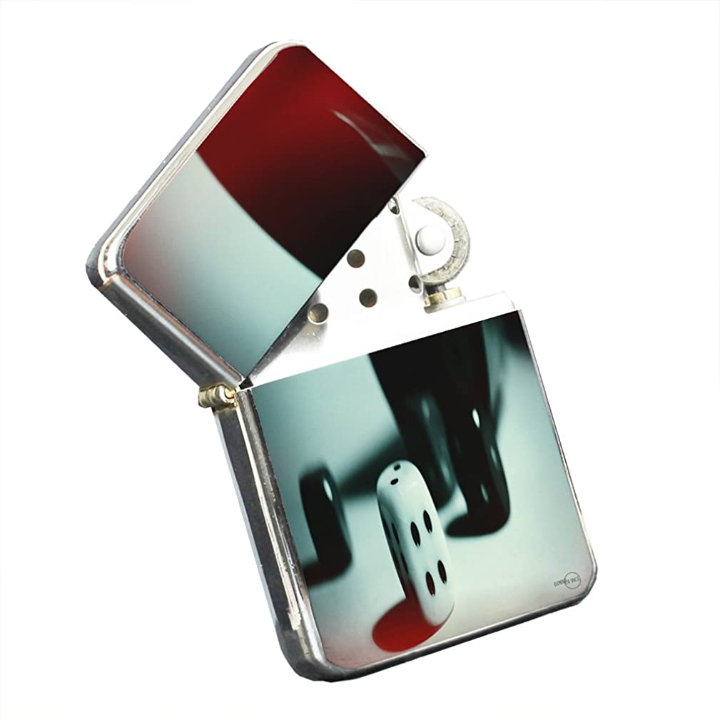 Dice Roll Of Luck - Silver Chrome Pocket Lighter by Elements of Space