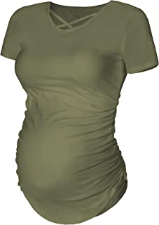 Best green maternity shirt Reviews