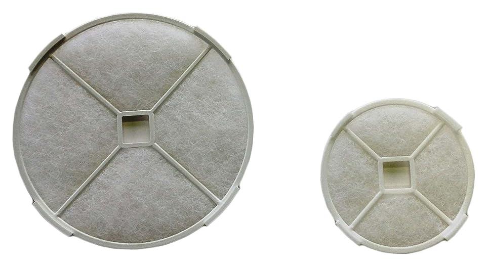 専制ショップ散歩ユニックス 換気口 角型レジスター KRP-100BW 専用 外気浄化フィルター 交換用