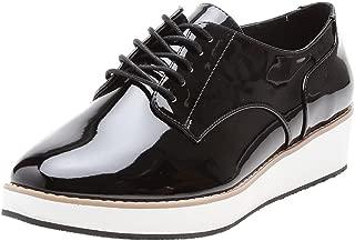 CALL IT SPRING Women's MCLINN Black Patent Sneakers-4 UK/India (37 EU)(6.5US) (MCLINN95)