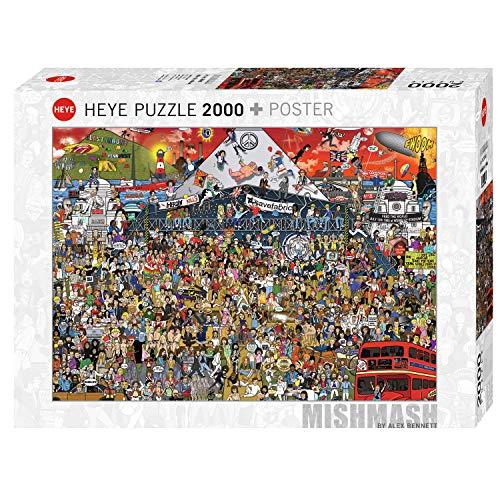 HEYE 29848 Cartoon Puzzles Puzzzle, Mehrfarbig