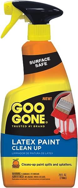 粘性消失的乳胶漆清洁剂表面安全清洁喷雾为湿或干油漆 24 盎司