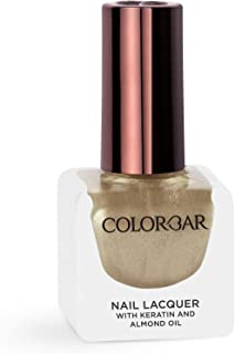 Colorbar Nail Lacquer, Goldie Gold, 12 ml