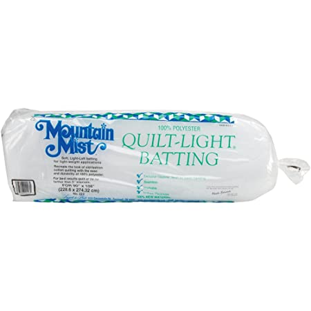 Craft Size 36x45 Fob:mi Mountain Mist Polyester Quilt Batting #.2-Pack Craft 36-inch-by-45-inch