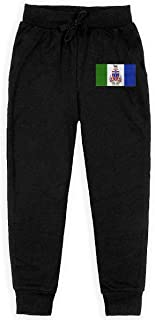 Dxqfb Yukon Flag,Flags of Yukon,Yukon Provincial Flags Boys Sweatpants,Sweatpants For Boys