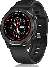 "Smart Watch, Popglory Smartwatch HR, Touchscreen 1.3"" Fitness Watch with Blood.."
