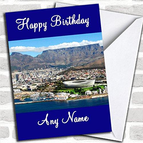 Kaapstad Zuid-Afrika Aangepaste Verjaardag Groeten Kaart- Verjaardagskaarten/Landen & Plaatsen Kaarten