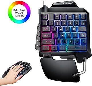 Amazon.es: teclado gaming mano