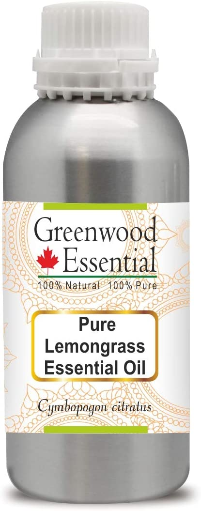 Greenwood OFFicial mail order Essential Pure Price reduction Lemongrass Oil Cymbopogon ci