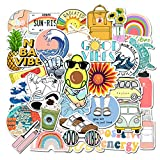 Cute Stickers for Water Bottle [35pcs] Ins Vinyl Sticker for Laptop Cups Phone Case PC Computer Bike Helmet Car Motorcycle Tumbler Luggage Helmet Skateboard Snowboard Gift for Kids