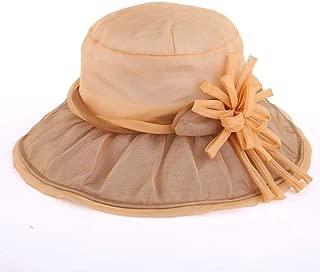 SJZQL Sombrero para el Sol Sombrero para el Sol de Verano Transpirable Confort Sombrero Plegable UV Protección Solar Sombrero para el Sol (Color : Style C)