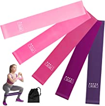 Resistance Loop Bands, Resistance Exercise Bands Set Workout Bands Pilates Flexbands for Home Fitness, Stretching,Strength...