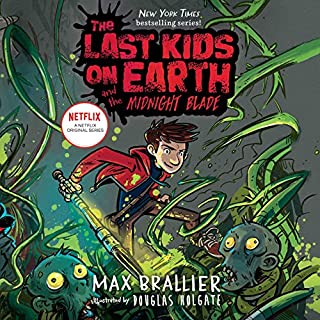 The Last Kids on Earth and the Midnight Blade audiobook cover art