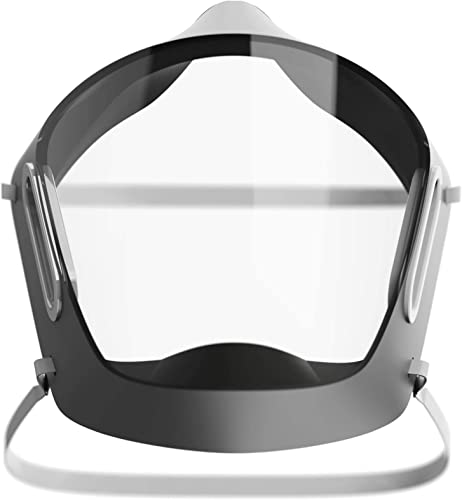 AARMR Purox Crystal Clear Half Face Mask Transparent Face Mask With Air Filter Hard Polyshell Comfortable Nano99 Filtration Pollution Mask and Safety Mask