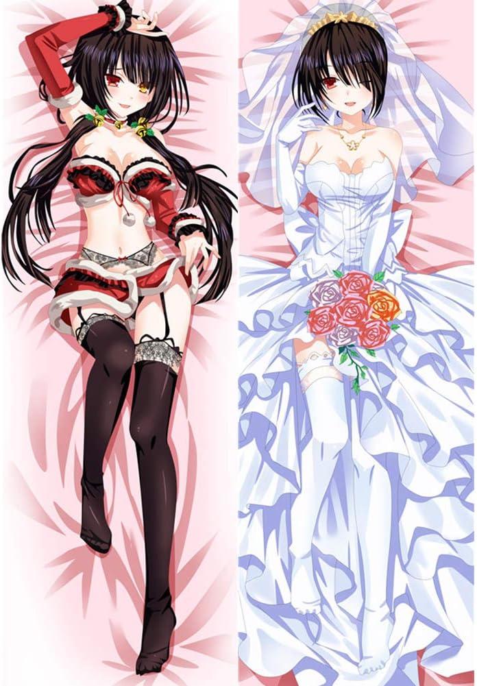 dgdgd Omaha Large discharge sale Mall Date A Live Tokisaki Double-S Anime Body Kurumi Pillowcase
