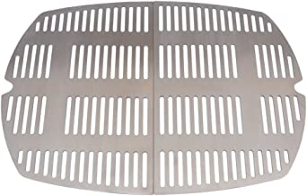 Stanbroil Outdoor Stainless Steel Casting Cooking Grates Fit Weber Q2000, Q200 Series Grills