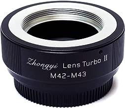 Mitakon Zhongyi M42 Mount Lens to Micro 4/3 Camera Turbo Mark II Adapter