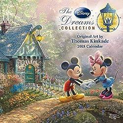 Mousesteps Thomas Kinkade 2018 Calendars Coloring Book Available
