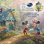 The Disney Dreams Collection 2018 Calendar de Thomas Kinkade