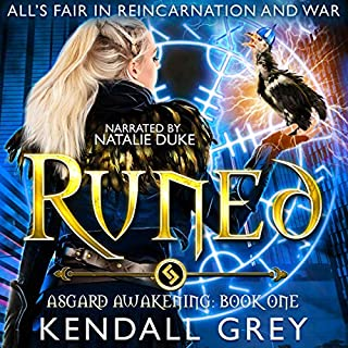Runed audiobook cover art