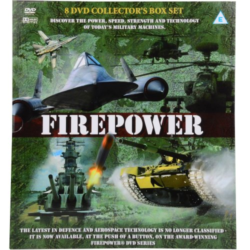 Firepower 8 DVD Collector\'s Box Set - Over 450 Minutes About Today\'s Military Machines