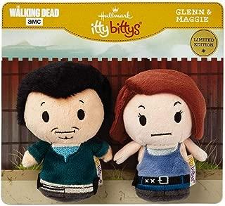 HMK Hallmark itty bittys The Walking Dead Glenn Maggie Plush Limited Edition - Set of 2