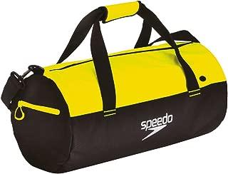 Speedo Waterproof Gym Pool 30L Duffel - Black/Yellow - OS