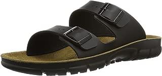 Birkenstock Bilbao Birko-Flor Black Soft Footbed Sandals