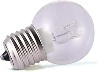 Misis Bombilla de luz de Horno Base Mediana - Bombillas incandescentes Resistentes a Altas temperaturas de 500 Grados Base E27, Equivalente a 40 vatios, 2650k Blanco Suave
