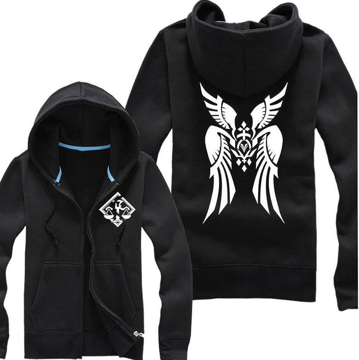 Fate grand order Cu Chulainn Zipper Anime Hoodie Sweatshirt Jacket Coat Casual